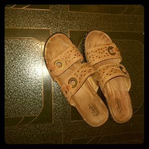 Clarks Clog Sandals